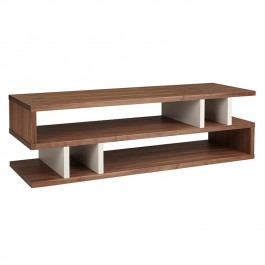 Conran Counter Balance Coffee Table Walnut and Pebble