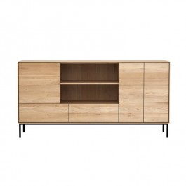 Whitekbird Open Sideboard Oak Ethnicraft