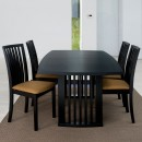 Skovby Black Wenge Extending Dining Table #19 (lifestyle)