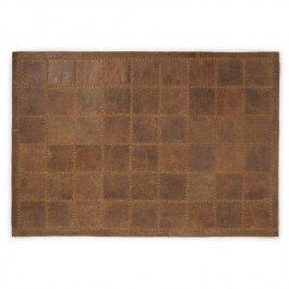 Leather Rug - Vintage Russet