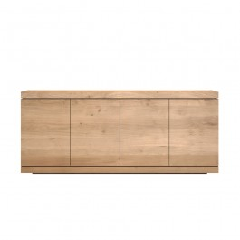 Ethnicraft Oak Sideboard Burger 4 Door