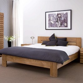 Horizon Teak Bed (lifestyle)