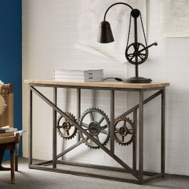 Evoke Industrial Console Table