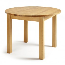 Serene Oak Extending Round Dining Table Sutton