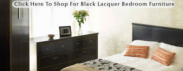 Black Bedroom Furniture Oriental Lacquered Designs At 4