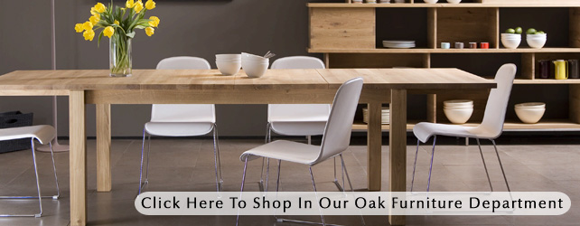 Contemporary Oak Furniture | Solid Oak Sideboards, Tables, Chairs