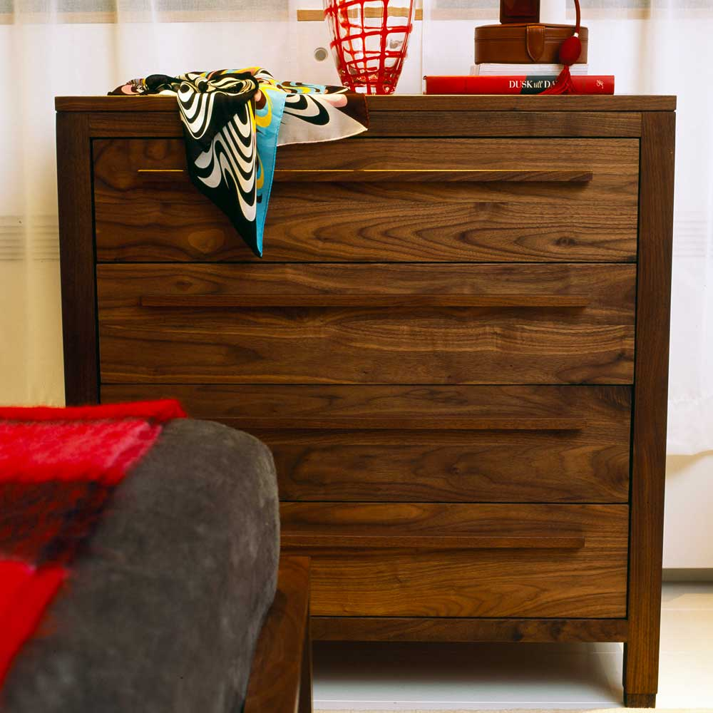 Walnut furniture solid wood contemporary furniture from for American walnut bedroom furniture uk