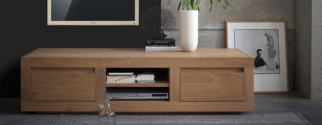 Contemporary Oak Sideboards Solid Wood Furniture At 4living