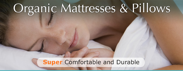Natural Chemical Free Mattresses Banner