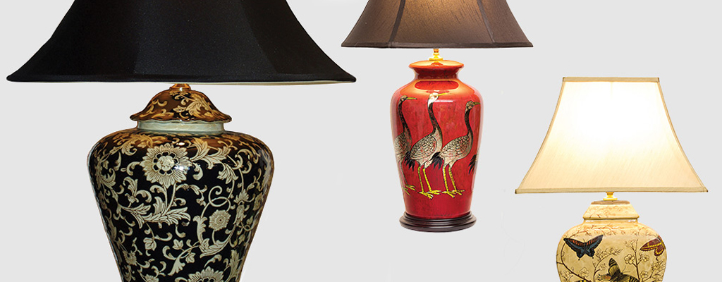 Mandarin Table Lamps