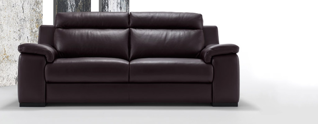 Polo Divani Italian Leather Sofas | Contemporary Leather Sofa 4Living