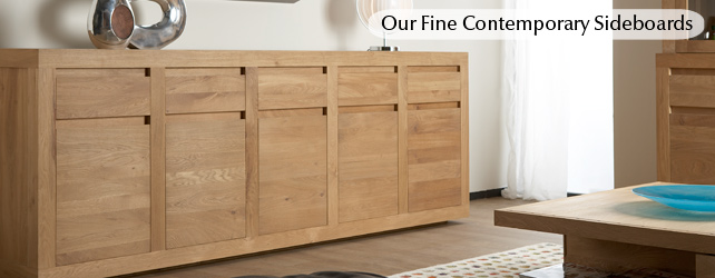Sideboards Black White And Lacquer Solid Wood Chinese Oak