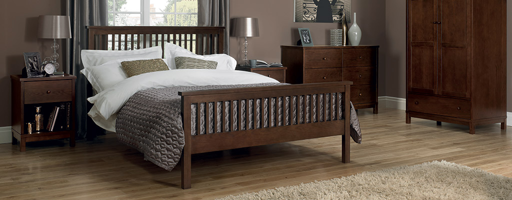 Walnut Bedroom Furniture Solid Wood Beds Wardrobes Cupboards