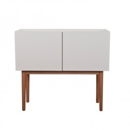 High on Wood Gloss White Small Sideboard