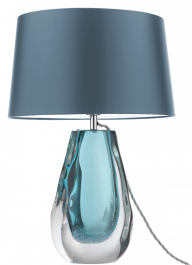 Heathfield Glass Table Lamp - Anya