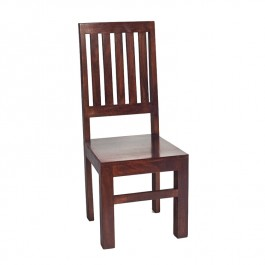 Toko Dark Mango Slat Back Dining Chair