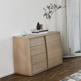 Small Oak Sideboard Skovby 752