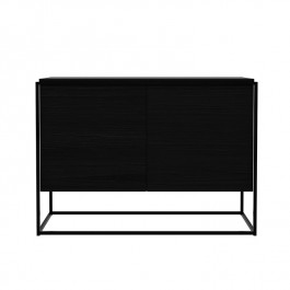 Ethnicraft Oak Black Sideboard Monolit