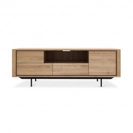 Ethnicraft Shadow Oak & Black TV Media Unit