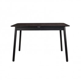 Zuiver Ash Black Extending Glimps Table
