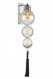 Heathfield Lighting Medina Lustre & Nickel Wall Light