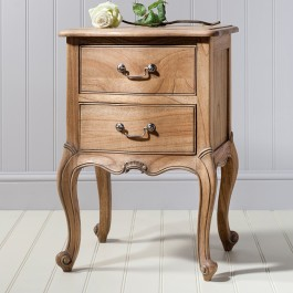Frank Hudson Weathered Chic Bedside Table