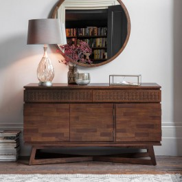 Gallery Boho Retreat 3 Door, 2 Drawer Sideboard