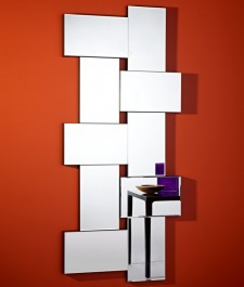 Deknudt Contemporary Mirror Criss Cross