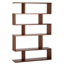 Conran Balance Tall Bookcase Walnut
