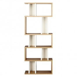 Conran Counter Balance Alcove Bookcase - White
