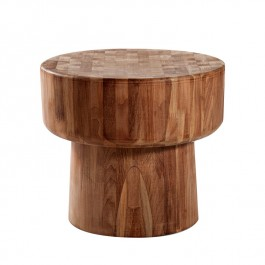 Ethnicraft Teak Low Side Table Pop