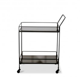 Notre Monde Dixon Charcoal Bar Cart