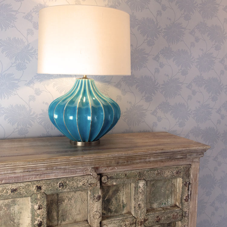 turquoise table lamp rustic image ceramic lighting heathfield mallory turquoise antique table lamp