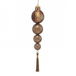 Heathfield Lighting Medina Smoke 4 Ball Pendant