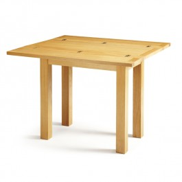 Serene Brent Oak Flip Top Dining Table