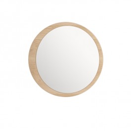 Wewood Solid Oak Mirror Luna