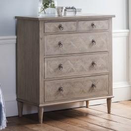Mustique 5 Drawer Chest Hudson Living