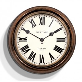 Newgate Wooden Vintage Kings Cross Clock