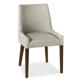 Ella Scoop Back Chair Linen