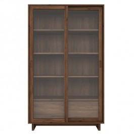 Ethnicraft Solid Walnut Bookcase Wave