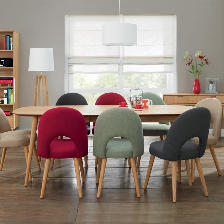 Bentley oslo oak dining set table with chairs living