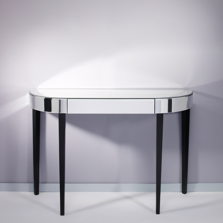 ... Deknudt Mirrored Console Table Softly. Image 1