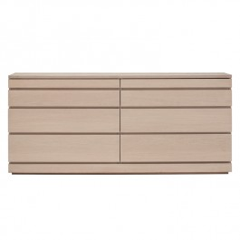 Skovby White Oiled Oak Sideboard #88