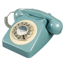 Retro Telephone - 746 French Blue