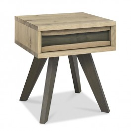 Bentley Oak Lamp Table With Drawer Cadell