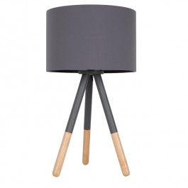 Highland Tripod Grey Table Lamp Zuiver