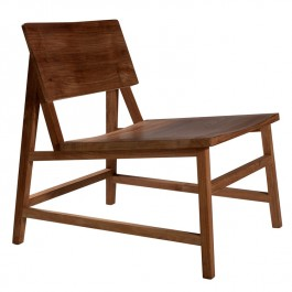 Ethnicraft Teak Lounge Chair N2