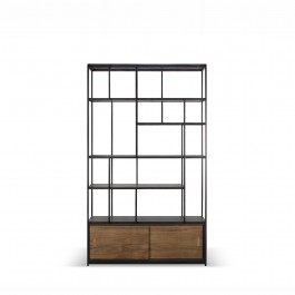Ethnicraft Teak Studio 2 Door Rack