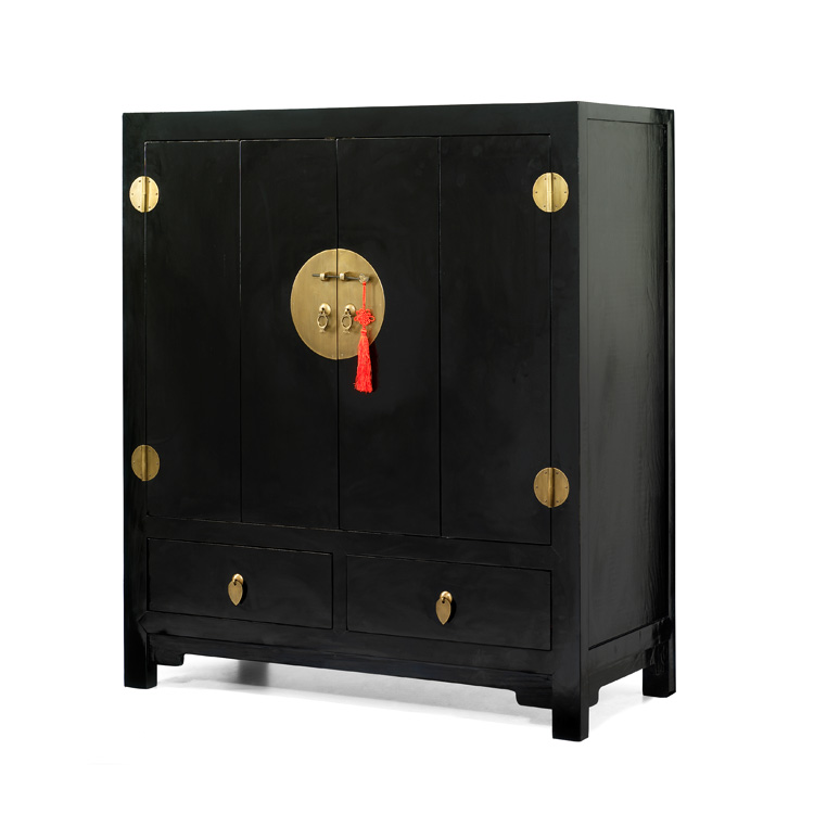 Black Lacquer Tv Cabinets Chinese Style Tv Cabinet From 4 Living