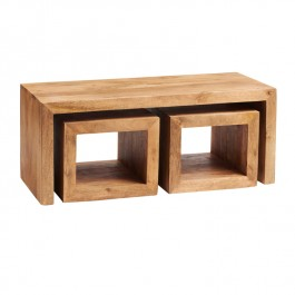 Toko Light Mango Long John Coffee Table